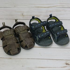 Stride rite summer adjustable sandals toddler SZ8